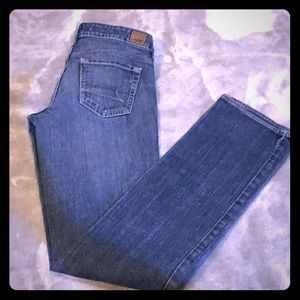 Size 0 Reg American Eagle 77 Straight Denim Jeans